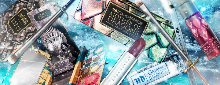 BEAUTY NEWS : La collection Game of thrones d'Urban Decay