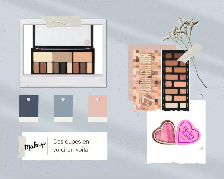 Et si, on parlait de dupes makeup et beauté?